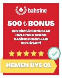 Bahsine 500 TL Bonus