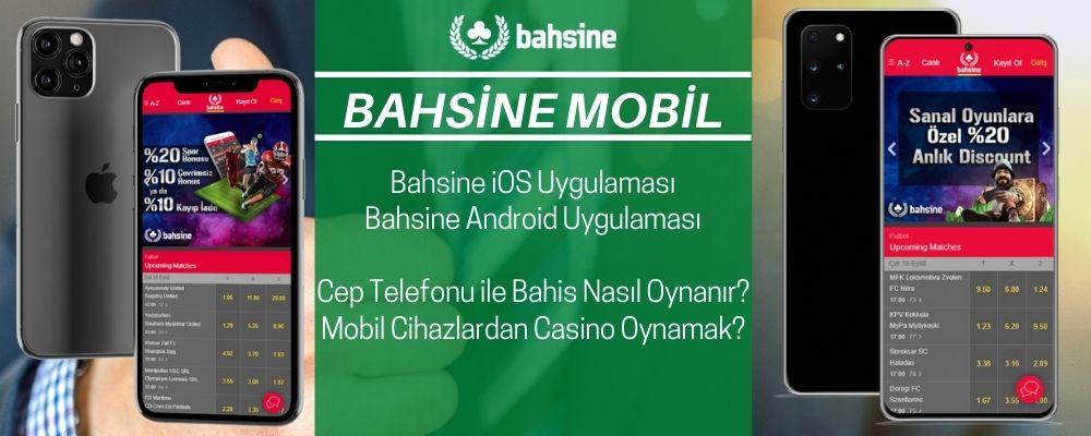 Bahsine Mobil - Bahsine iOS - Bahsine APK